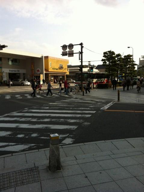 かまくら散歩道・由比ケ浜海岸までの散歩道
